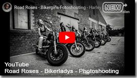 YouTube Link - Bikerladys Photoshooting Road Roses