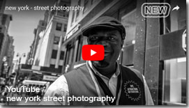 Externer Link zu YouTube new york street photography